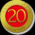 ANNIVERSARY 20 since1999